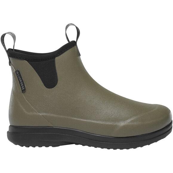Lacrosse - Hampton II Olive korte gummistøvler