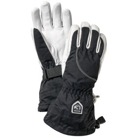 Hestra - Heli Ski 5-finger Black/White