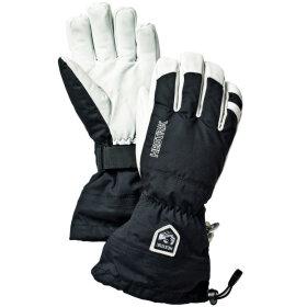 Hestra - Army Leather H Ski 5-finger Black/White
