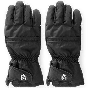 Hestra - Primaloft Leather 5-finger Black