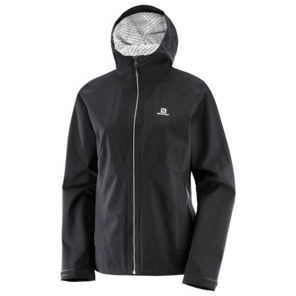 Salomon - Sort Nebula Flex Jacket til damer