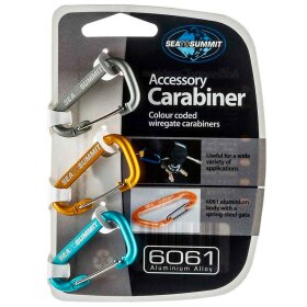 Sea To Summit - Accessory Carabiner Set 3 pcs.