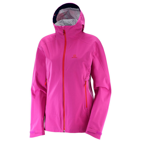 Salomon - La Cote Stretch Jacket W Rose