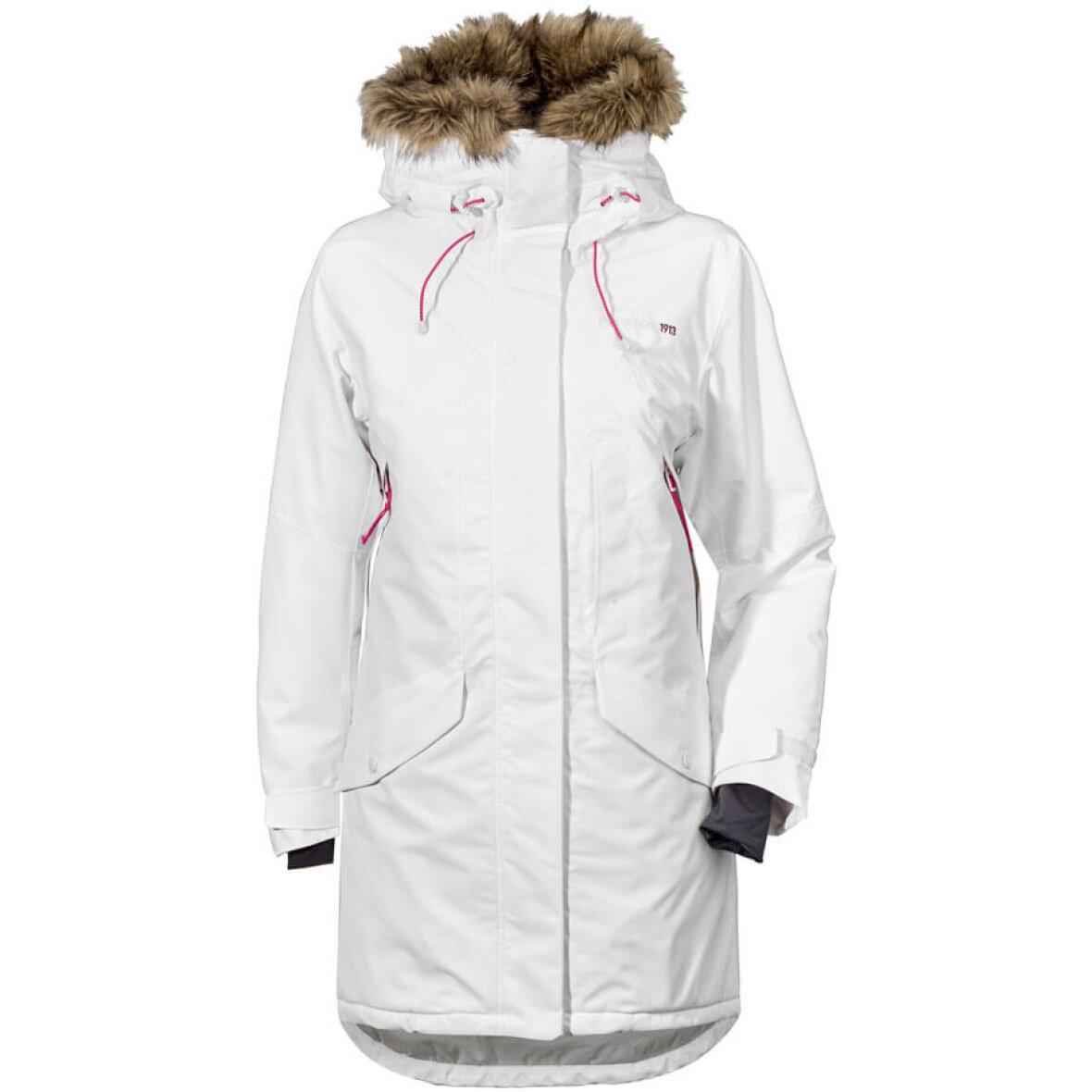 2775a39a Hvid vinterjakke til damer fra Didriksons - Suveræn god model