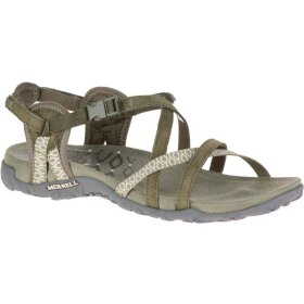 Merrell - Damesandal Terran Lattice II Dusty Olive