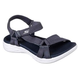 Skechers - Blød damesandal On-The-Go 600 Brilliancy Navy