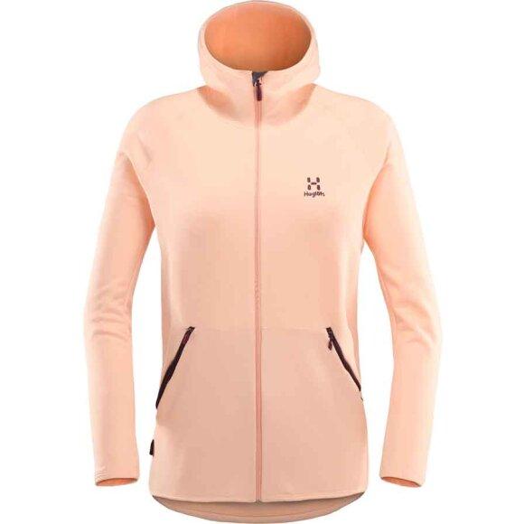 Haglöfs - Bungy Hood Women Cloudy Pink
