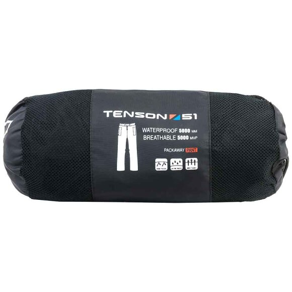 Tenson - Crest Regnbuks Unisex Black