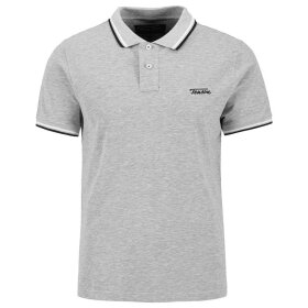 Tenson - Holt Polo M Light Grey