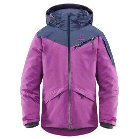 Haglöfs - Niva Insulated Jacket Junior Lilla/BLå