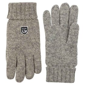 Hestra - Basic Wool Glove Grå