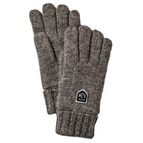 Hestra - Basic Wool Glove Koksgrå