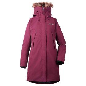 Didriksons - Nadine Womens Parka Wine Red