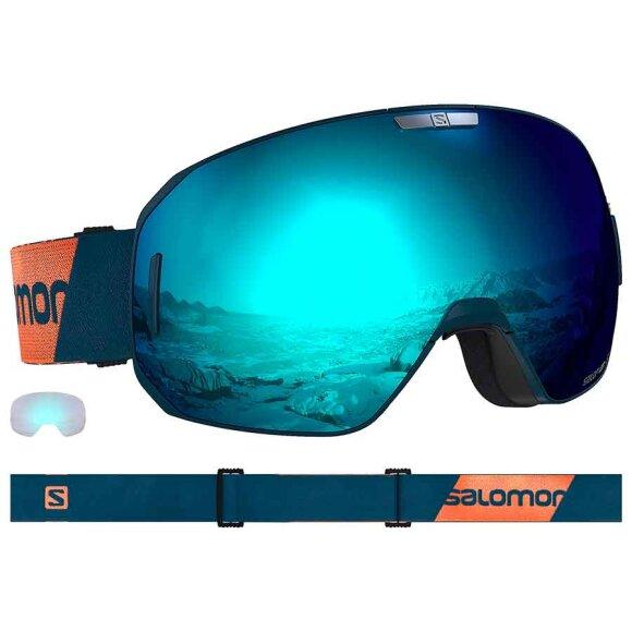 Salomon - S/MAX Moroccan Blue Goggles