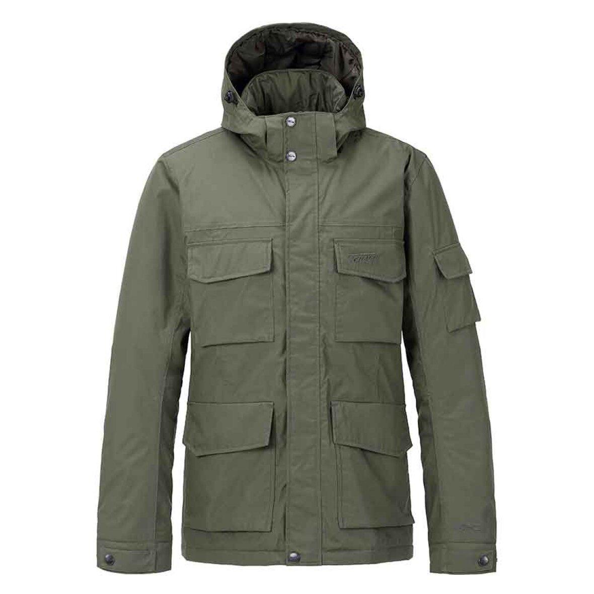 d276017d Vinter jakke bygget på rå kvalitet | Tenson - Danny M Khaki - køb her!