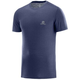 Salomon - X Wool SS Tee M Night Sky