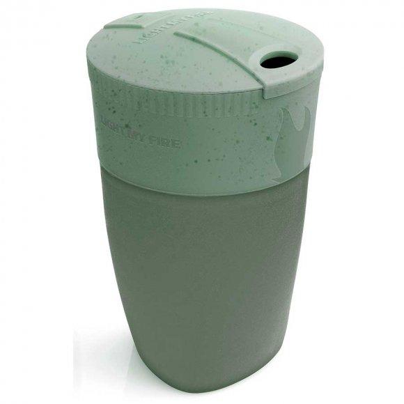 Light My Fire - Pack-up Cup BIO Sandy Green