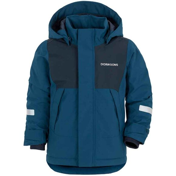 Didriksons - Caspian Kids Jacket Blue