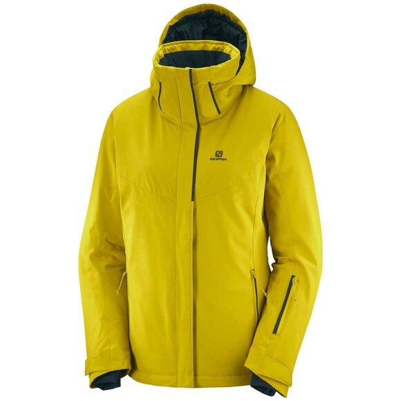 Salomon - Stormpunch Jacket W Golden Palm
