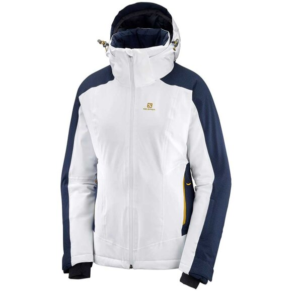 Salomon - Brilliant Jacket W White/Night sky