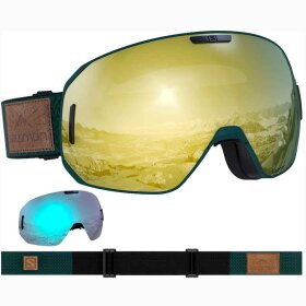 Salomon - S/MAX Green Gable +1XTRA Lens