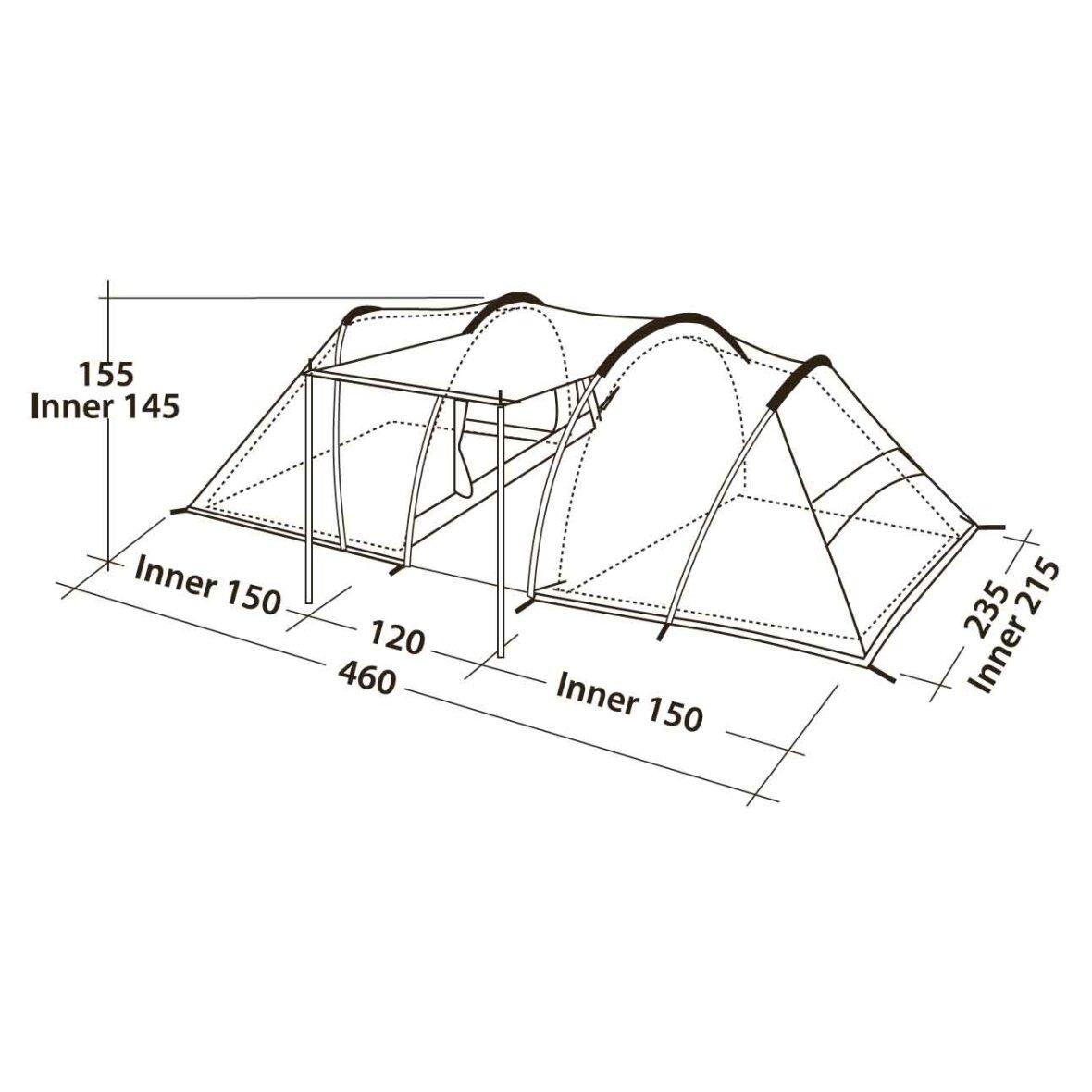 Robens Double Dwell 600   Solidt kvalitetstelt til 6