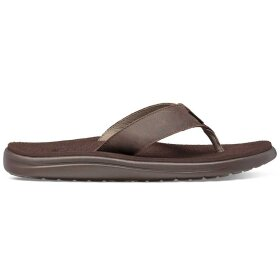 Teva - M Voya Flip Leather Chocolate