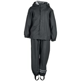 Mikk-Line - Rain Set Kids Black Olive
