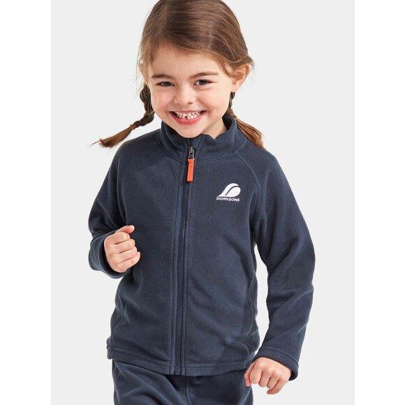 Didriksons - Monte Kids fleece jacket blå