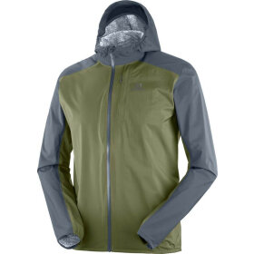Salomon - Bonatti Waterproof Jacket M green/grey