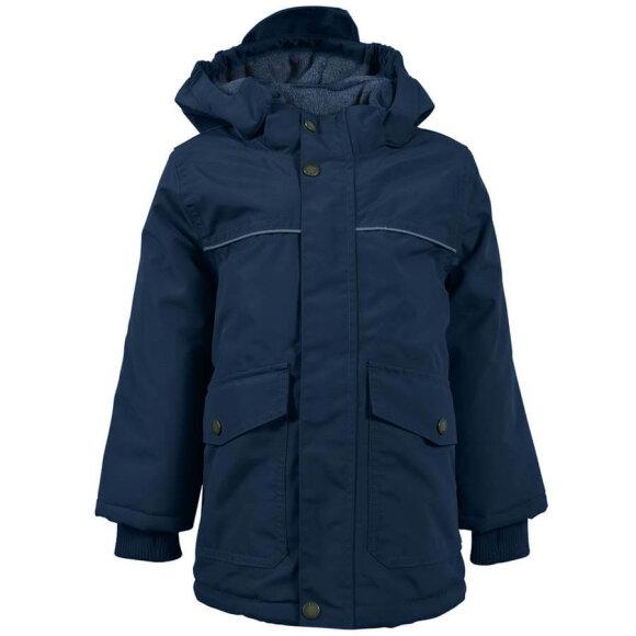 Mikk-Line - Nylon Boys Jacket Solid Blue