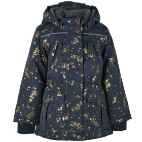 Mikk-Line - Girls Jacket AOP Blue Nights