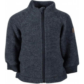 Mikk-Line - Wool Jacket Antracithe Melange