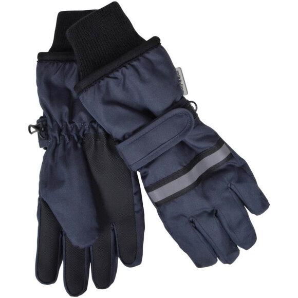 Mikk-Line - Thinsulate Gloves Blue Nights