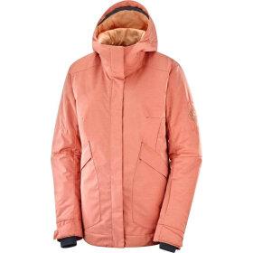 Salomon - Snow Rebel jacket W Brick Dust