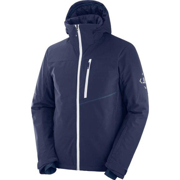 Salomon - Blast Jacket M Night Sky Skijakke