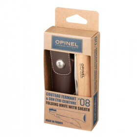 Opinel - No 8 Stainless 8,5 cm m skede