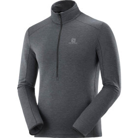 Salomon - Outline Halfzip Mid M Black