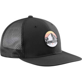 Salomon - Trucker Flat Cap Black