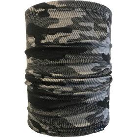Bula - Halsedisse Printed Wool Tube Dgrey