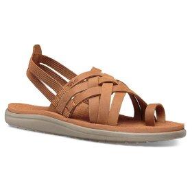 Teva - Høj sandal W Mahonia Wedge Cross Strap