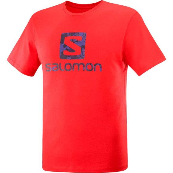 Salomon - Outlife Logo SS Tee M Fieryred