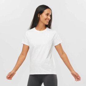 Salomon - Outlife Small Logo Tee W White
