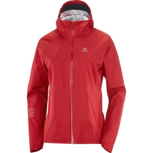 Salomon - Bonatti WP Jacket W red Chili