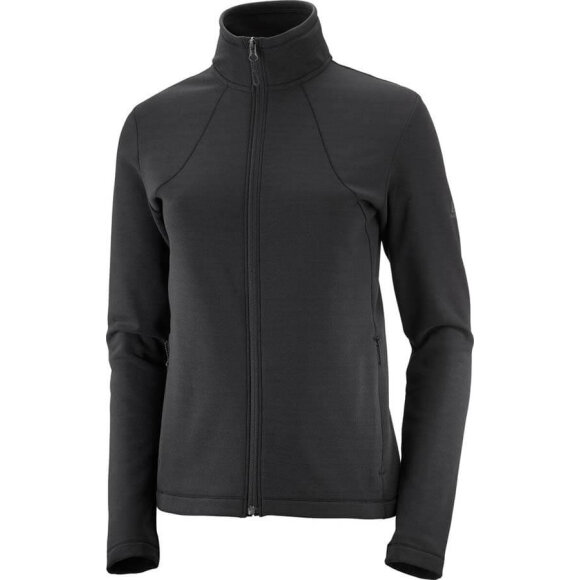 Salomon - Essential Warm FZ Fleece W Black