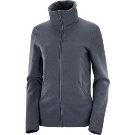 Salomon - Essenntial Cozy Fleece FZ W Ebony