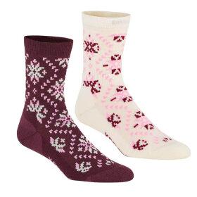Kari Traa - Tiril Wool Sock 2 pack Prism