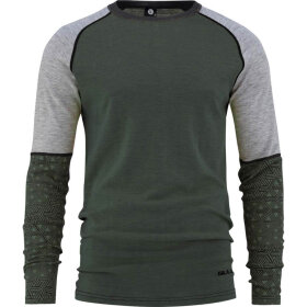 Bula - Geo Merino Wool Sleeve Crew