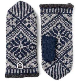 Hestra - Nordic Wool Mitten Navy/Grey